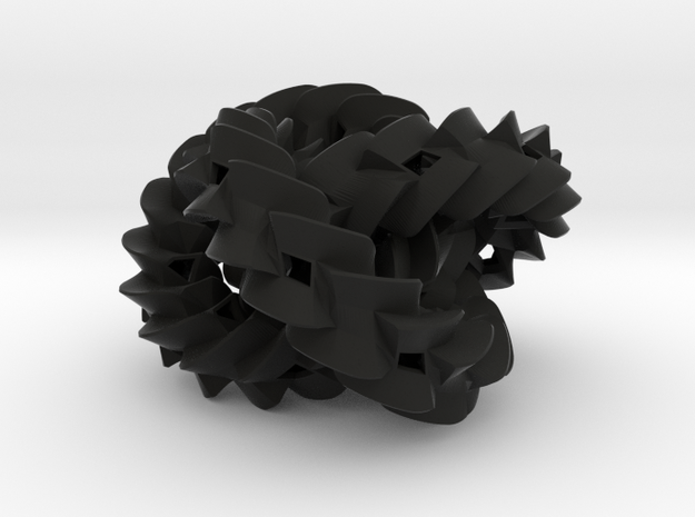 Triple gear (small) 3d printed