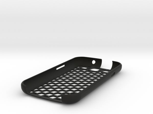 honey Comb Galaxy S3 case (repaired) 3d printed