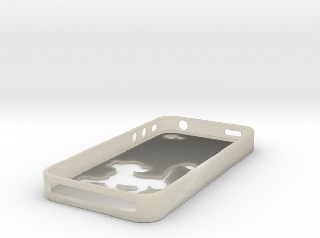 Simba Iphone 4 Case 3d printed