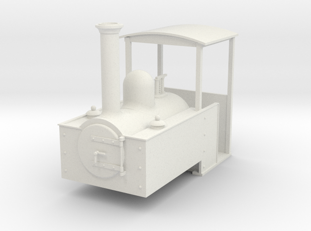 1:32 Decauville steam loco