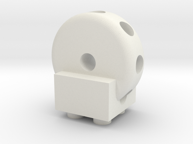 Tinkertoys to Duplo uck 07f00m 3d printed