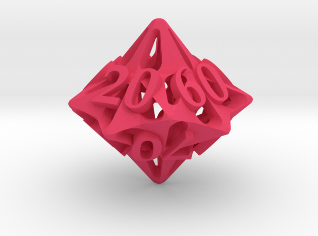 Pinwheel Die10 Decader Ornament 3d printed