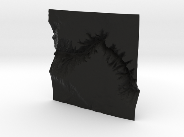 8'' Black Canyon of the Gunnison, CO, WSF 3d printed
