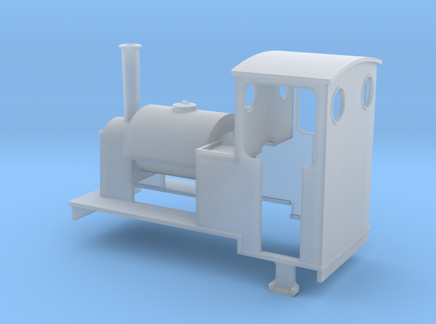 O9 Saddle-tank loco 3d printed