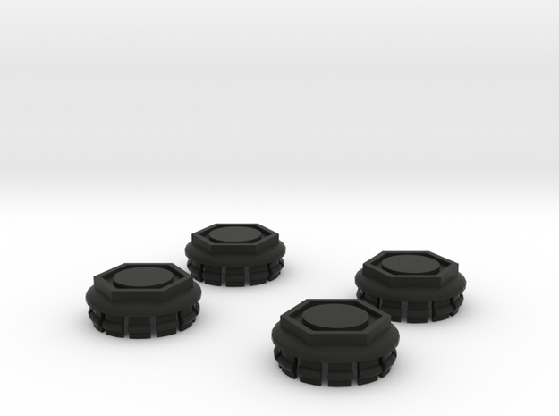 4 X Toyota Prius G3 Wheel Center Cap - Hex 3d printed