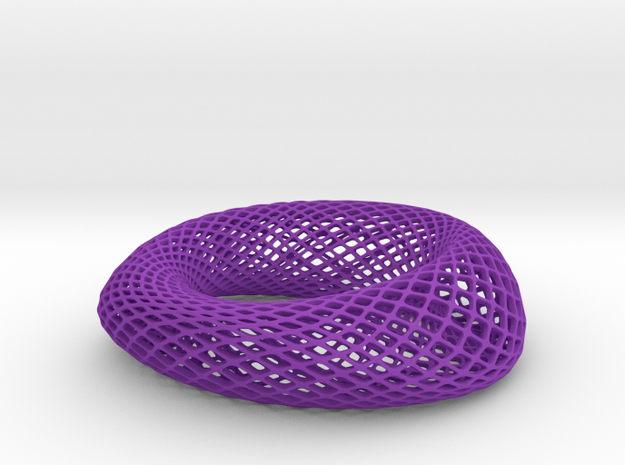 Bracelet Rhomb Wide 68mm 3d printed