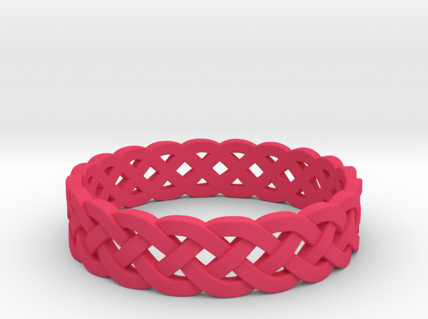 Rohkea Bold Celtic Knot Size 5 3d printed