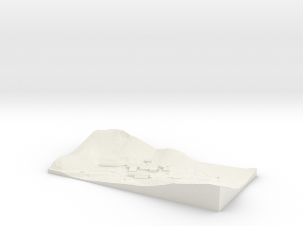 topographical overlay 3d printed