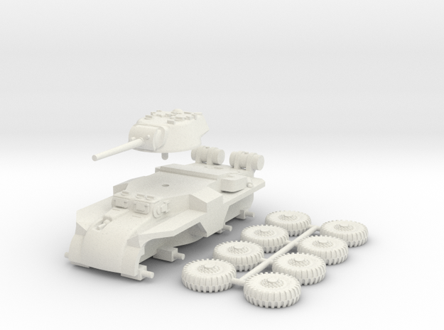 1/100 (15 mm) T18E2 Boarhound 3d printed