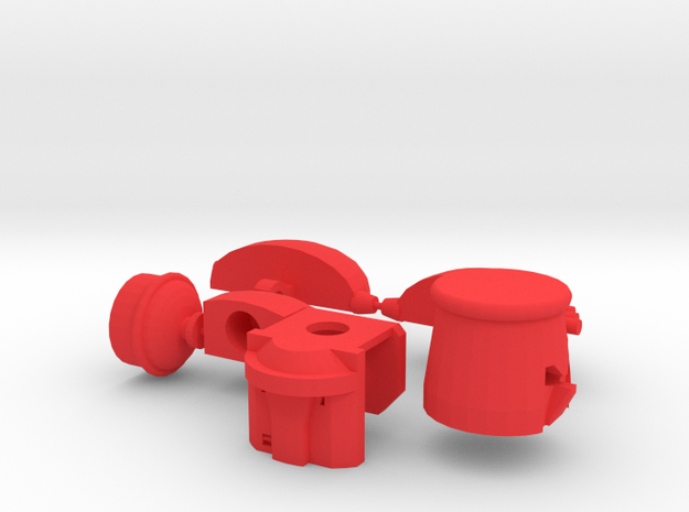 UFO bot (3mm clip arm guards) 3d printed