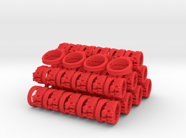 I Love Holland Rings 4xD20,40xD18,44xD16 3d printed