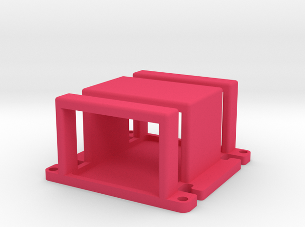 Naza Mount Cage 3d printed