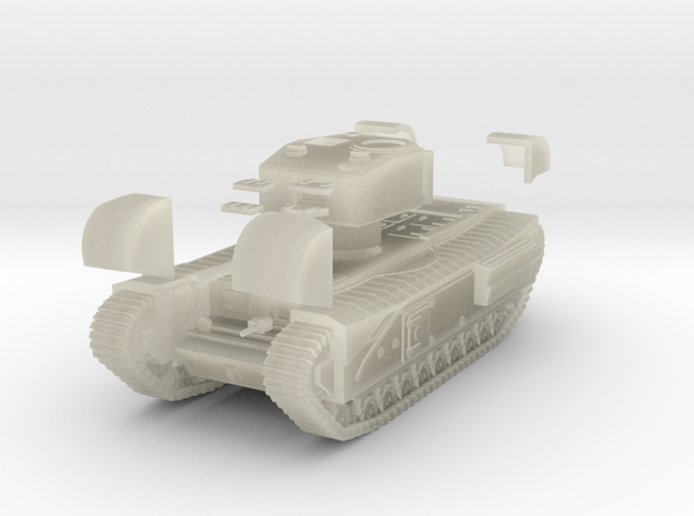 Tank- Churchill Mk III (1/87th) 3d printed