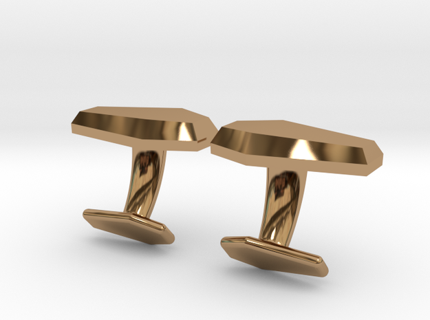 Casino Coffin CuffLinks 3d printed
