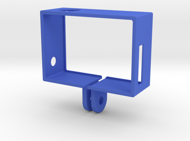 GoPro Hero3 Frame (reversed) 3d printed