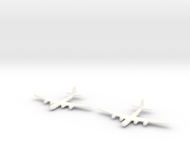 B-29 Superfortress - 1/700 Scale (Qty. 2) 3d printed