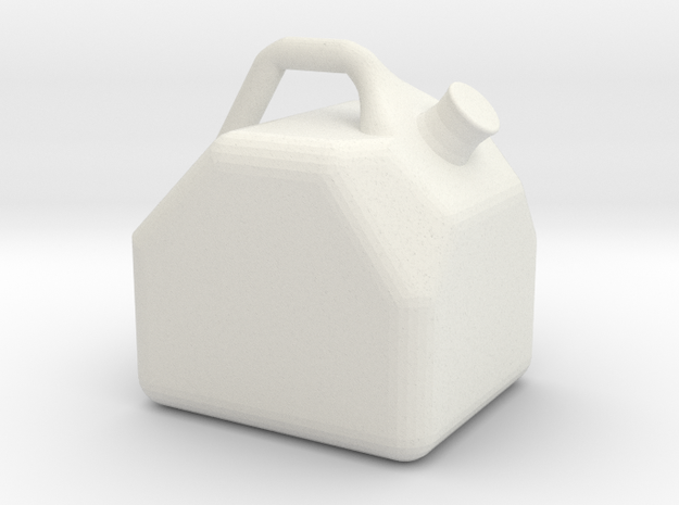 Miniature Gas Can Gasoline Jug 1:10 Scale RC Rock 3d printed