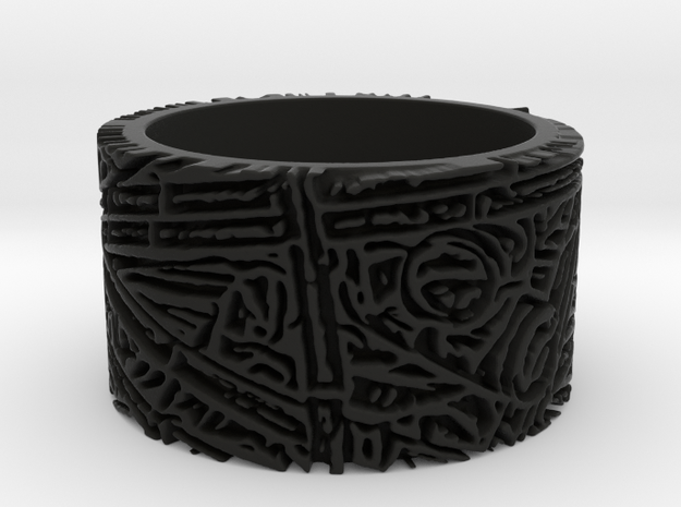 Bamboo Ring Size 7 3d printed