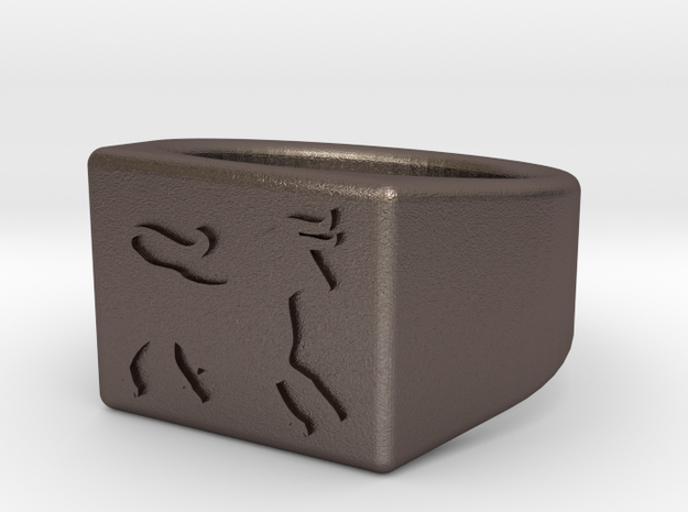 Size 9 - Ceasar's Legion ring 3d printed