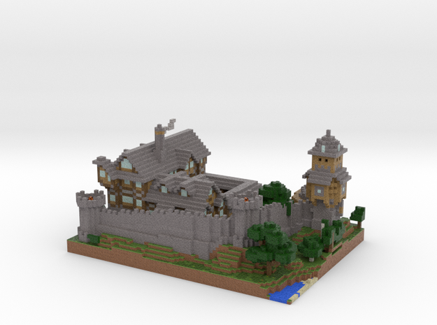 MineCastle 3d printed