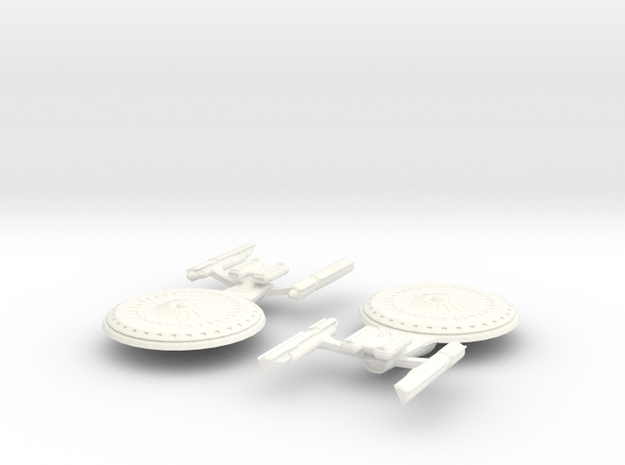 USS Sojourn 3d printed
