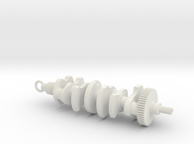 Crankshaft 3d printed
