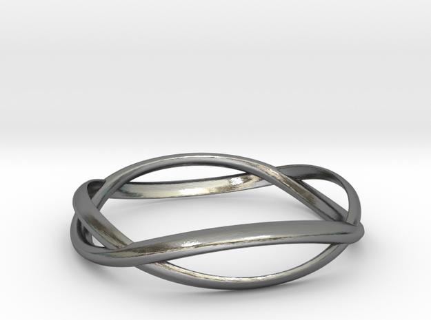 Wave Ring ~ US Size 8 3d printed
