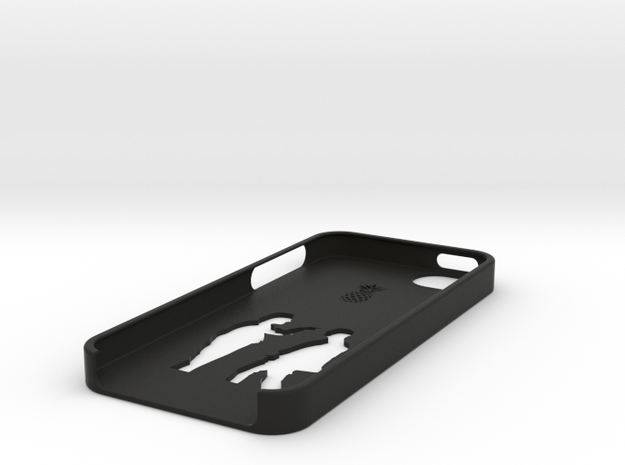 Bottom iphone 5 case 3d printed