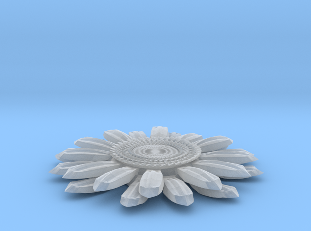 Sun Flower Loop 3d printed