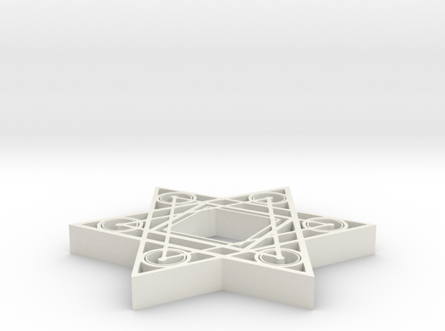 Star Square - 2 inch 3d printed