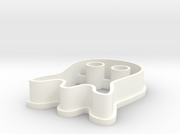 Ghost Cookie Cutter 3d printed