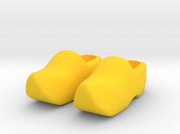 Wooden Shoe / Klomp 3d printed