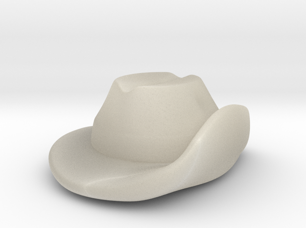 Aussie Slouch Hat 3d printed