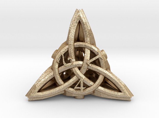 Celtic D4 3d printed
