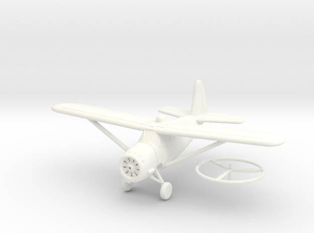 1/100 Curtiss O-52 Owl 3d printed