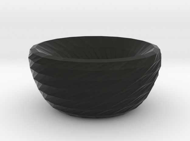 twisted dreams bowl 3d printed