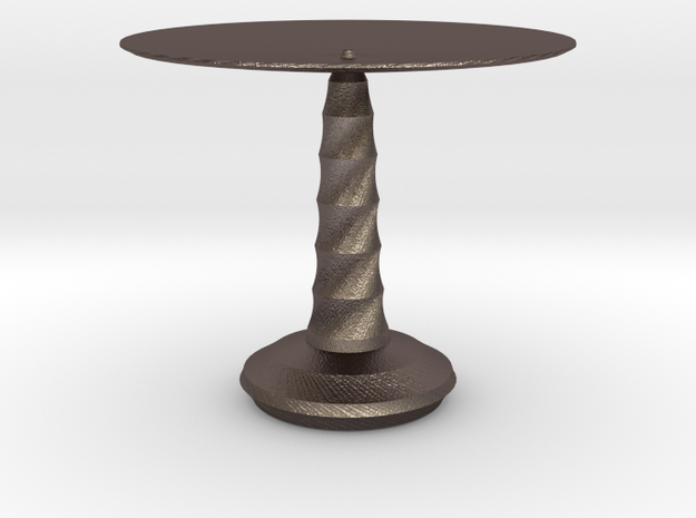 red cap table 2 3d printed