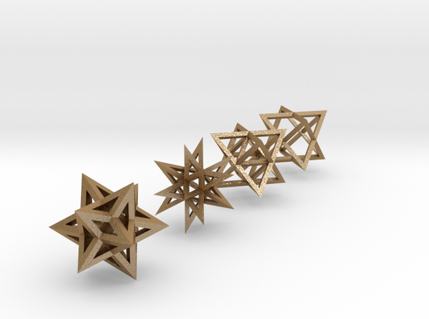 Crystalline Light Body Shapes 3d printed