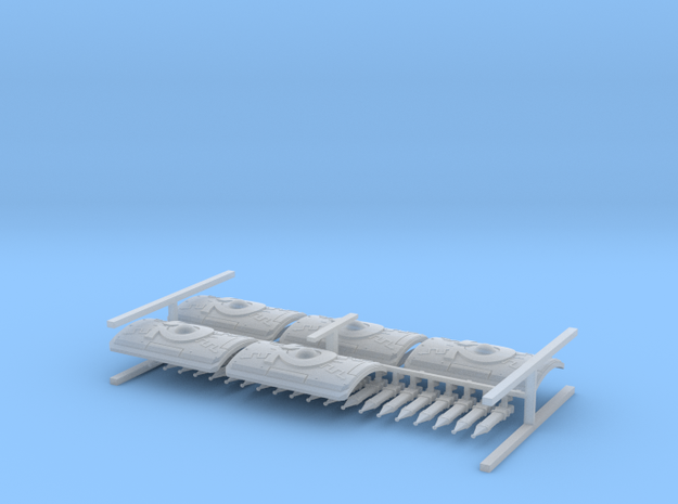 Roman Shields and Swords for 28mm miniatures 3d printed