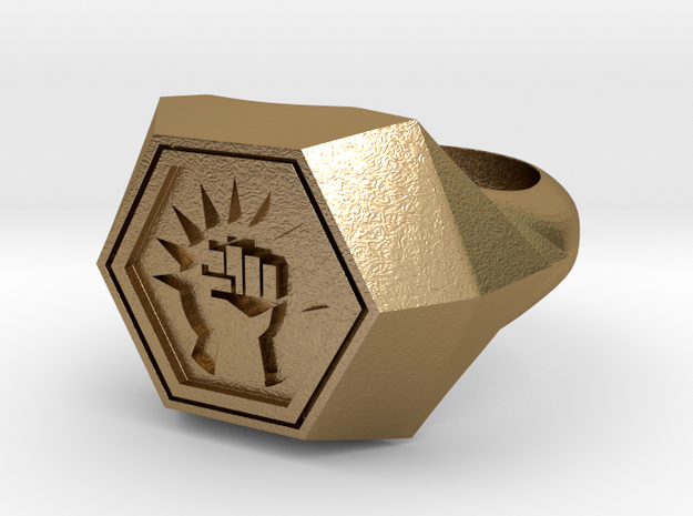 Magic: The Gathering Boros Ring(US Size 10) 3d printed