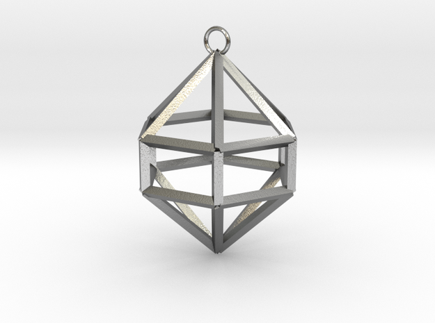 Gem Ornament 3d printed