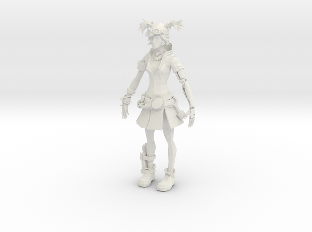 Mechanic Girl 3d printed
