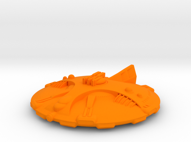 Martian Icaria class Strike Cruiser 3d printed