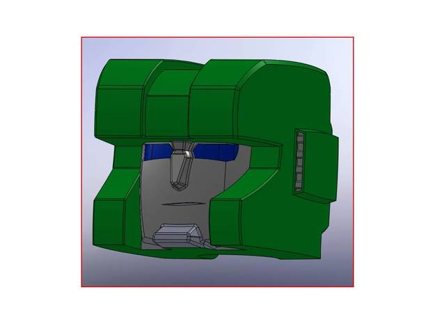BT -03 HUNT HEAD 3d printed