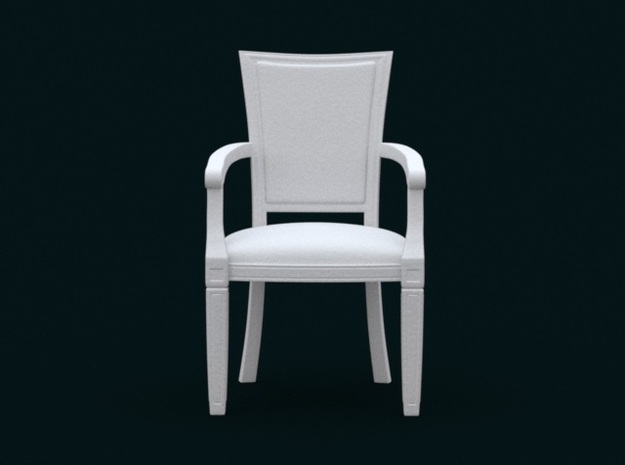1:39 Scale Model - ArmChair 01 3d printed