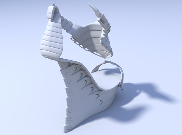 Janina Alleyne - Scorpion Shoe (Bottom) 3d printed Render 3