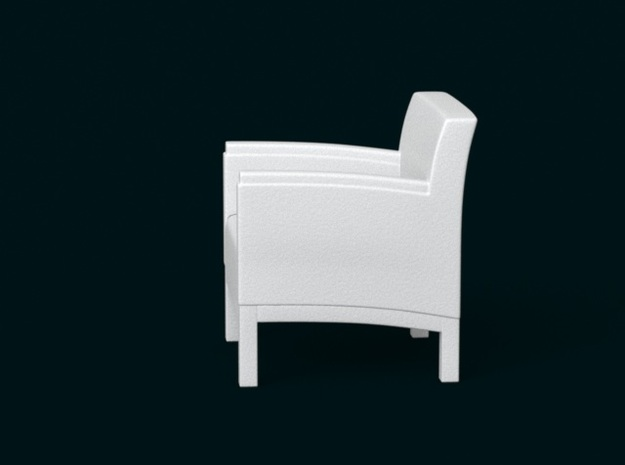 1:39 Scale Model - ArmChair 03 3d printed