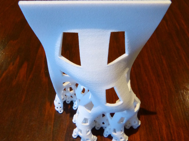 Developing dragon curve 3d printed