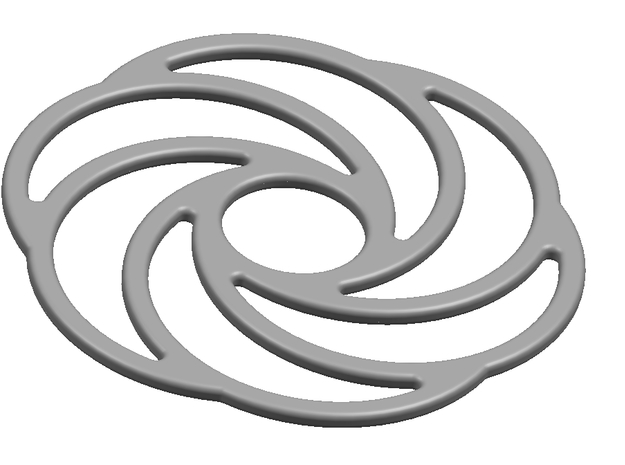 Squaring the Torus Geometry 3d printed
