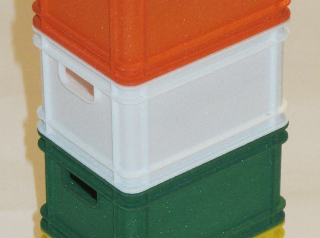 1/8 scale plastic box ( 20 l ) 3d printed